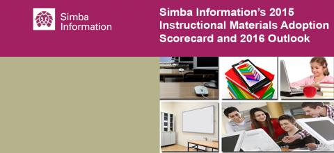 New! Simba Information's 2015 National Instructional Materials Adoption Scorecard and 2016 Outlook